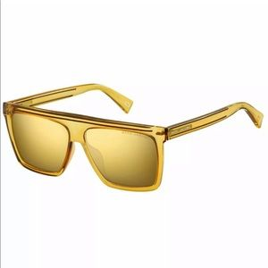 Marc Jacobs Sunglasses unisex yellow gold frame